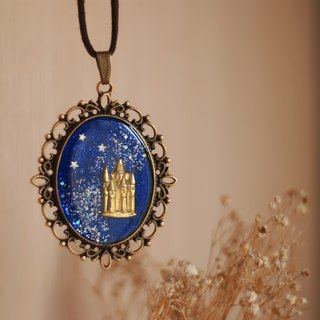 Castle under the stars necklace
