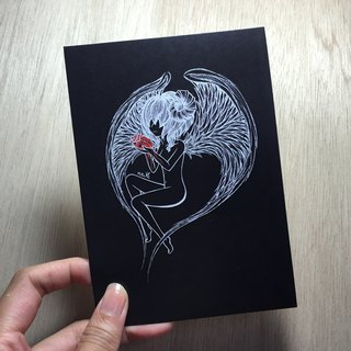 Aries negative Postcards