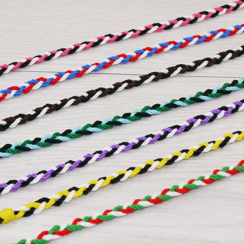 * Poof Fei sugar - hand-woven bracelet lucky surfing foot ring foot rope L (cotton section)