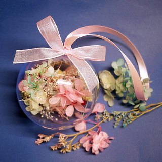 Piece of praise - pink blue dream transparent transparent acrylic flower ball without flower wedding small things
