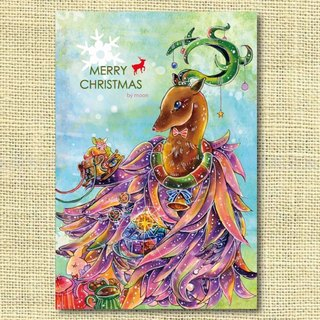 [Christmas] beautiful Christmas deer limited Dear Merry Christmas! Christmas Cards