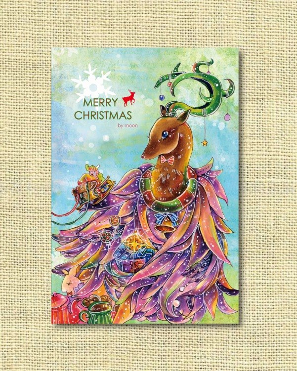 [Christmas Limited] Dear Merry Christmas! Christmas card