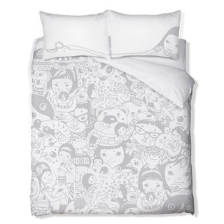 Fairy hundred people Standard Double bedding three group