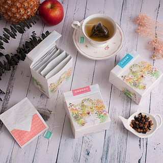 3 boxes of oolong tea & tea / Litchi osmanthus + white peach + Chamomile & Fragrant Oolong 【HERDOR Tea】