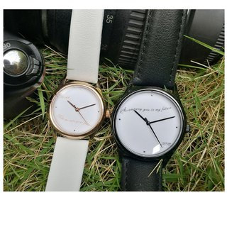Couple Watch can custom made - free shipping worldwide
