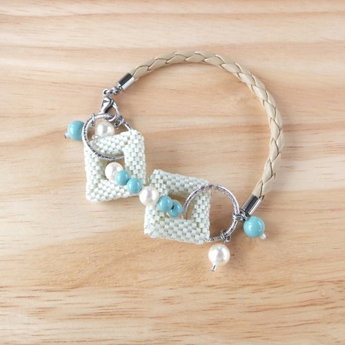{TomorRong} sets the circle || Jewelry Woven Bracelet