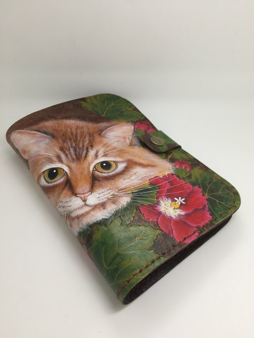 LTZ Pidiao cat painting notebook (gray tabby)