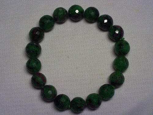 Red and green treasure bracelet