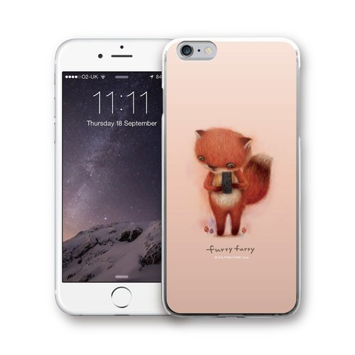 PIXOSTYLE iPhone 6 / 6S original design protective case - FURRYFURRY PSIP6S-316