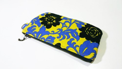 [VernaHuang hand for groceries] colorful Universal bags - yellow and black flowers