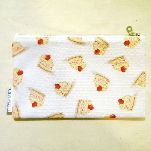Strawberry Cake Bag / Pencil Case