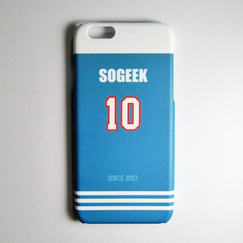 SO GEEK phone shell design brand THE JERSEY GEEK jersey back number Customized paragraph 026