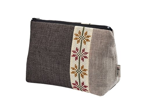 【TIWS】Singela - indigenous handmade cross stitch cosmetic bag