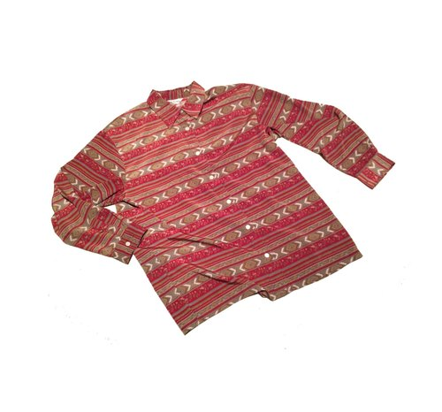 Ancient Cave firm │Xmas gift x │ vintage red ribbon shirts