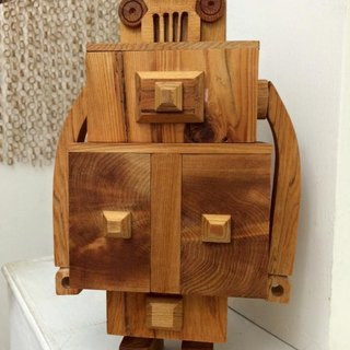 Wooden Box Robot - No.1 Machine