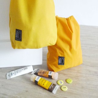 Urb Tour Side Shoulder Bag Two Yellow Lemon Set / One Pack 189 / Additional Badge / For Exchange Gifts