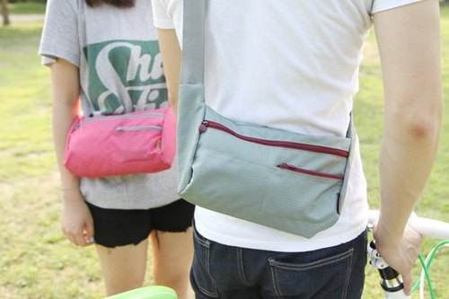 Korea Antenna shop Riding Bag versatile side backpack bicycle Valentine Couple