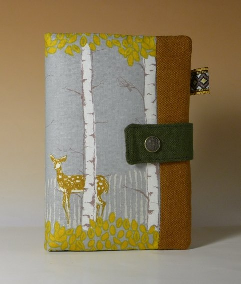 Multifunctional Passport Holder / long cloth folder*forest deer*