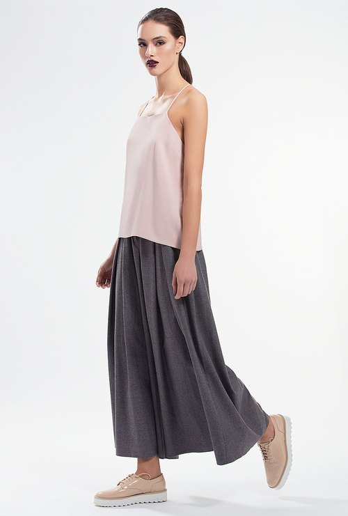 Dilute Culottes Trousers