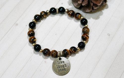 * Men x neutral style * natural stone x brass _Live laugh love