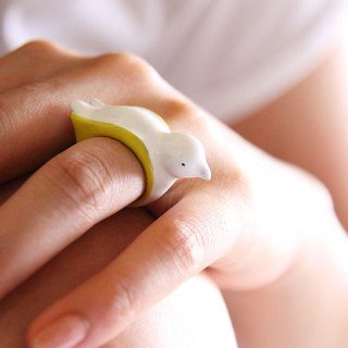 Bird Woodland Ring
