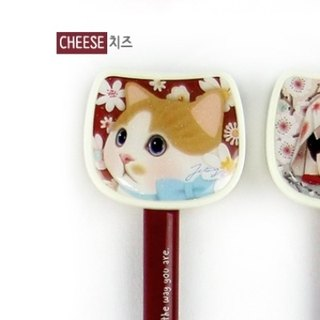 Jetoy, sweet cat head ballpoint _Cheese (J1508201)