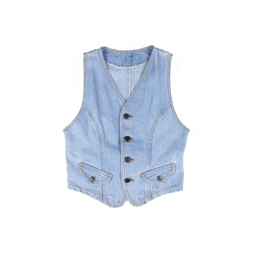 Priceless knew │ │ colored vintage denim vest VINTAGE / MOD'S