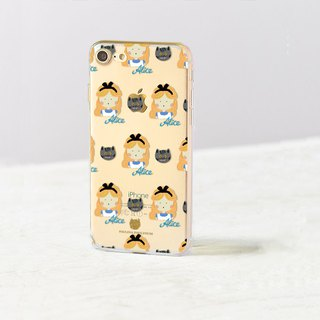 Cat clear phone case Floral iPhone x Case Samsung note8 case Galaxy s8 plus