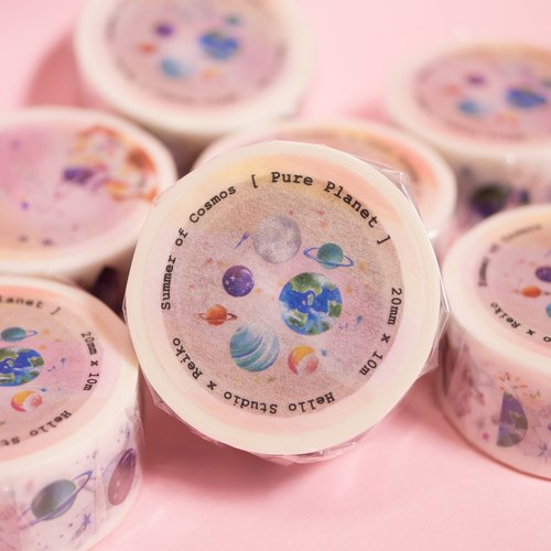 Cosmic Ice │Pure Planet Paper Tape