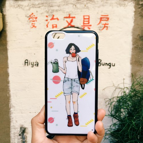 Adventure Girl IPhone 6plus Phone Case