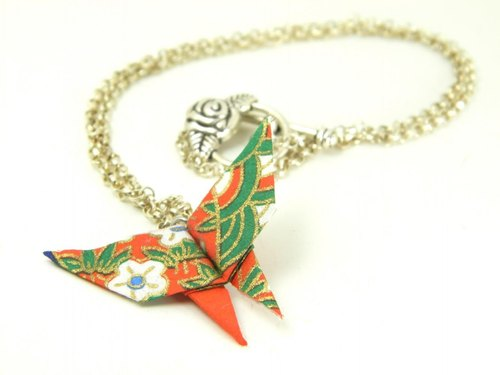 Origami necklace (Y18CLP3CAr)