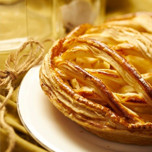 Gold crisp apple pie! !