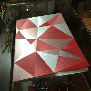 [Nuts Design] Radiant Notebook 筆記本 - 紅