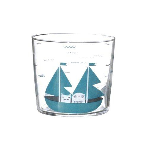 Rock The Boat glass | Donna Wilson