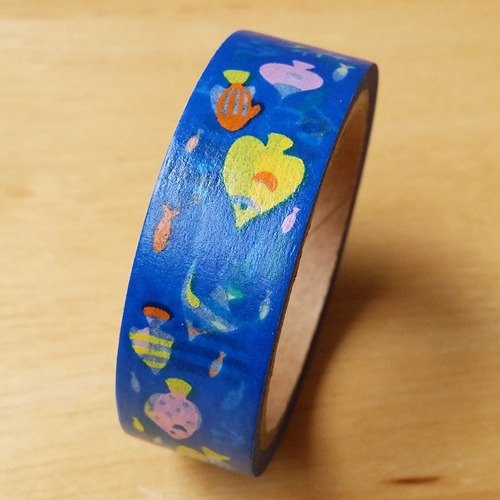 Japan amifa and paper tape [tropical fish (32444)]