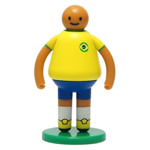 [UPUP placards villain] three-dimensional doll - football series Brazil villain