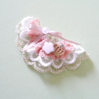 Lace small fan small hairpin