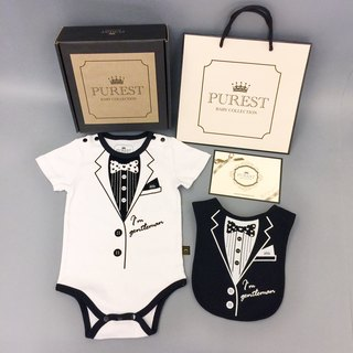 PUREST clothing pocket is very handsome / small gentleman / suit gift box group / baby Mi Yue / birthday / gift preferred