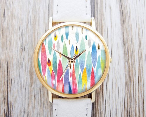 Colorful Raindrops - Women's Watches/Men's Watches/Neutral Watches/Accessories [Special U Design]