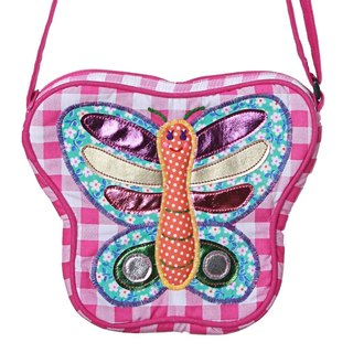 GINGER Kids │ Thai Design - Butterfly / Ladybug Side Backpack