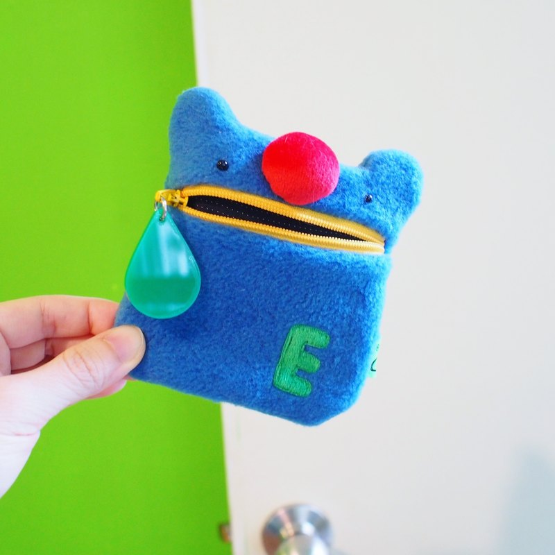 E * group Oral Money Wallet (Red Bear New Color: Blue. Yellow) Exchange Gifts Christmas