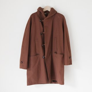A ROOM MODEL - VINTAGE, CJ-2319 Mc GREGOR retro brown coat with Shimokitazawa