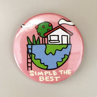 Badge Simple Life