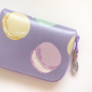 On Ai Maka dragon. Waterproof short clip / wallet / purse / purse