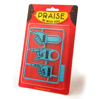 Haniboi_ carry Praise series combination -Praise be with you