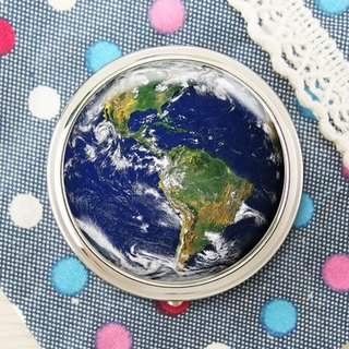 Earth - Jewelry Storage Box / Storage Products / Mirror Box [Special U Design]