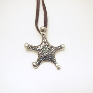 Tropical Ocean Silver Handmade Starfish Necklace Beach Jewelry Gift For Her Friend Date Anniversary Lover Valentine Birthday by IONA SILVER