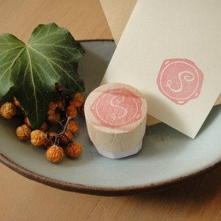 Hand-made rubber stamp - wax seal chapter (resolution 1 S)