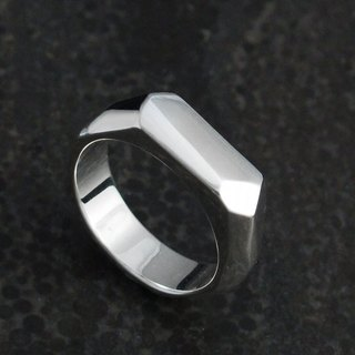 Custom Ring - Style or X-Ring(S) 925 Silver Ring - 64DESIGN