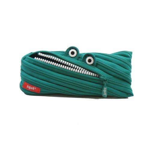 Zipit monster zipper bag (in) - blue and green